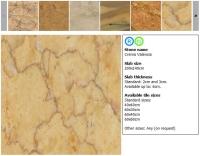 Natural stones on the Fonte Dei Marmi website